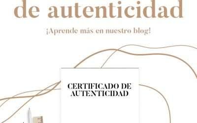 La importancia del certificado de autenticidad